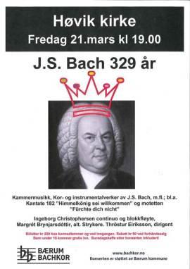 Bachs fødeslsdag 2014